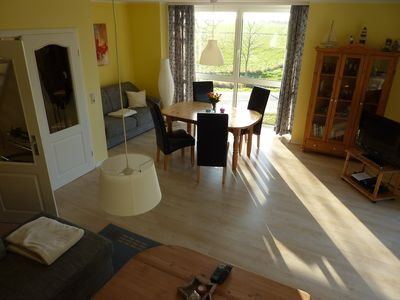 Photo for Apartment 87 sqm to feel good between Breetzer Bodden u. Rassower Strom