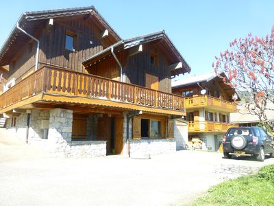 Photo for Typical Savoyard apartment awarded with the Meribel label, all mod cons