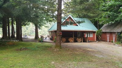 Front of the Windy River Retreat