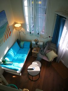 Photo for Study du Pêcheur Studio cocoon of 22 m² ground floor access 200 m from the beach