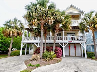 Photo for Kure Seahorse: 6 BR / 4 BA duplex - 1 side in Kure Beach, Sleeps 14