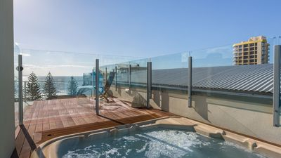 Private Spa on Roof Terrace