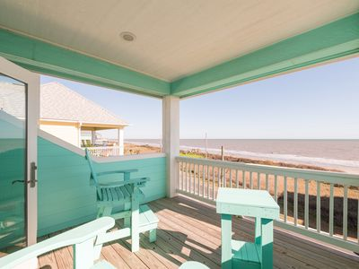 Photo for Sandy Toes, Vacation Home, Dog Friendly, Oceanview, Crystal Beach, Texas