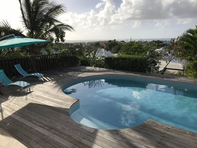 Photo for Blue orchid - Villa bottom SEA VIEW - Private pool - Quiet