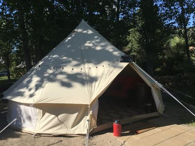 Photo for Luscious Glamping Tents Sleep 4