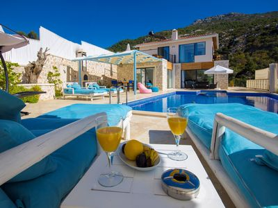 Photo for Luxury Getaway Villa with Large Outdoor Pool, Ideal for Honeymoon Couples