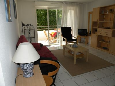 Photo for Nice apartment in residence standing - T2 - 48m ² with terrace 13m ² -