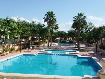 Beautiful Pool Area in Gated Complex