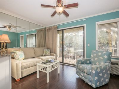Photo for Seaside Villa 152 - 1 Bedroom 1 Bathroom Oceanside Flat Hilton Head, SC