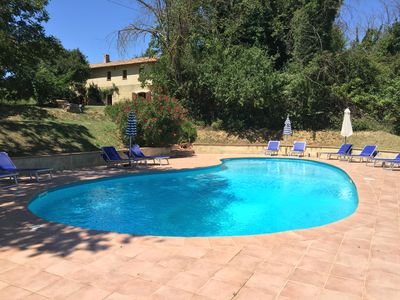 Photo for Spacious Country House With Large Pool In Idyllic Umbrian countryside