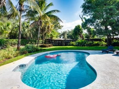 Photo for Lush Gardens, HEATED Pool, Tiki Bar, 2BR Private Home