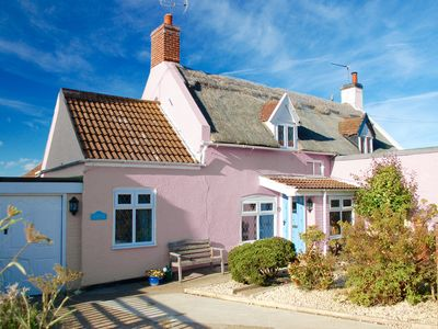 Photo for Admiral Cottage, Cosy Thatched Cottage Close To Sea & Sand Dunes