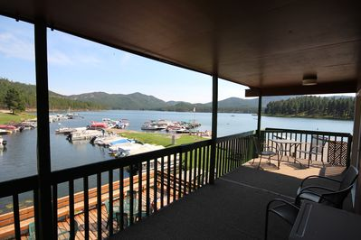 Your private deck overlooking the lake!