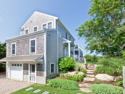 Photo for Water-View 3BR Gem w/ Private Suites & Upper Deck Steps to Cape Cod Bay