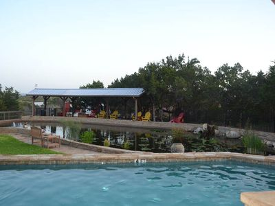 Photo for Breathtaking views of Texas Hill Country and amenities galore sleeping 30
