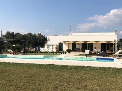 Photo for Traditional stone Pugliese villa with private pool, 5 minutes from Oria