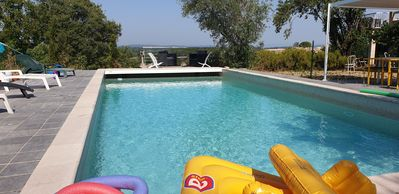 Photo for 4BR Villa Vacation Rental in Sainte-Anastasie, Occitanie