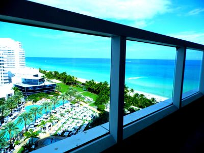 Photo for Studio at  Sorrento Tower at Fontainebleau Hotel in Miami Beach Ocean Vie