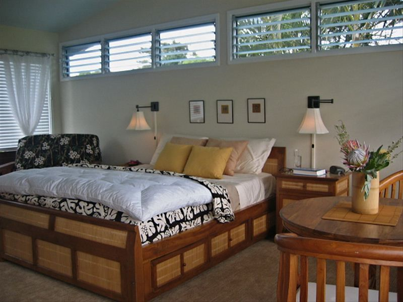 tropical island style bedroom furniture white sets mountain view windows wall