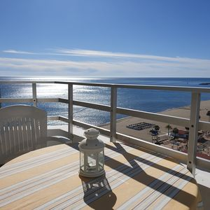 Photo for Ronda 3 Seafront Apartment,  Los Boliches Beach, Fuengirola