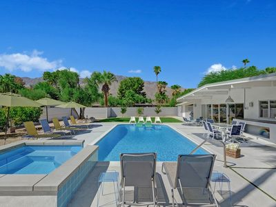 Photo for Mid-Century house with sweeping views in Central Palm Springs!