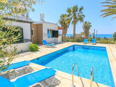 Photo for Villa Lela Tria: Large Private Pool, Walk to Beach, Sea Views, A/C, WiFi, Car Not Required, Eco-Frie