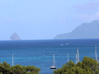 Photo for Studio sea view Anse Caritan 200 meters from the beach