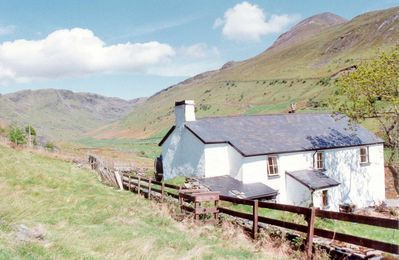 Photo for Croesor Bach is a traditional, detached farmhouse, serenely positioned at the top of a valley