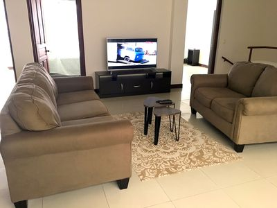 Photo for Luxury apartment 190m2 for family / group with views and parking