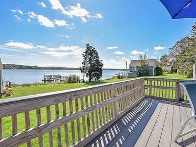 Photo for #417: Waterfront cottage with boat dock. Dog friendly, beautiful views!