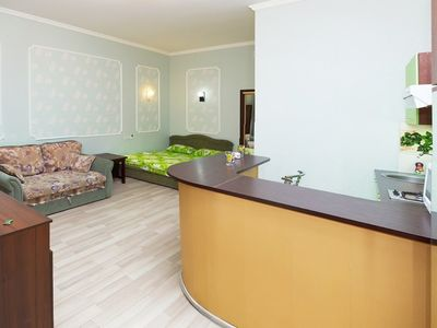 Photo for Studio apartment 127 m from the center of Odessa with Air conditioning (522310)