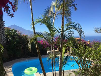 Photo for Apartment Julia - Sea & Teide view, one of the best locations in Tenerife!