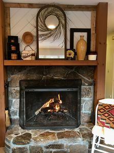 Lovely hearth!