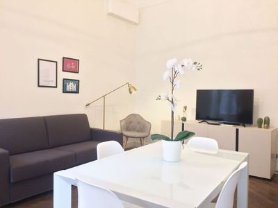 Photo for Spacious Achille apartment in Centro Storico with WiFi & balcony.