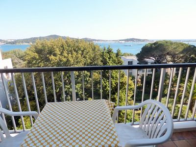 Photo for Studio three beds, superb sea view