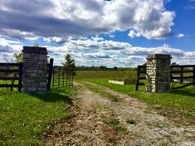 Photo for HICKORY HILL FARM - Private 200+ Acre Bluegrass Retreat with Newly Built Home