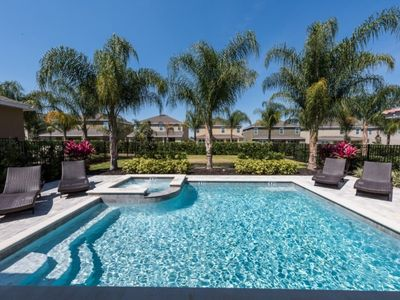 Photo for This Beautiful 5 Star Villa on Encore Resort at Reunion has a Private Pool, Orlando Villa 1663