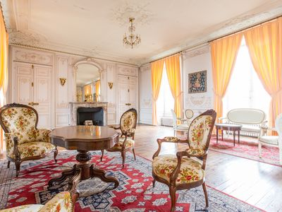 Photo for Suite in the french castle of 15th century - your true caste life experience