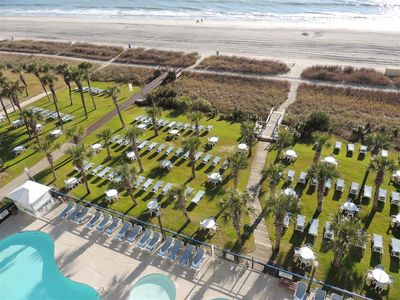 Newly Renovated With Directly Ocean Front- Boardwalk Oceanfront Towers !!!!