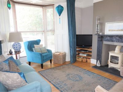 Photo for Stylish Mumbles home - dog friendly, parking for 2 cars, sleeps 7