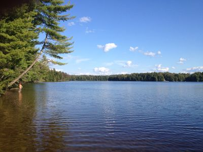 Adirondack Lakefront Home. Private Beach, Boats. Remote, Secluded, Super Clean!