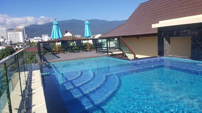 Mineral Water Spa Swimming Pool with fantastic views of the famous Doi Suthep