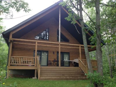 Photo for 3 Bedroom, 2 Bathroom Executive Log Home on Northwood Hills Golf Course