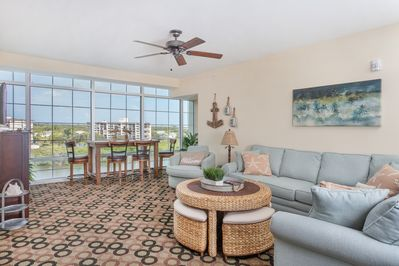 Unique and 1 of only 4 & offers amazing water views & spacious bonus room