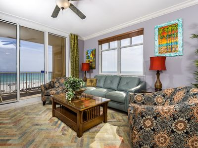 Photo for Cute Gulf Front Condo! Pools Onsite, Free Beach Equipment Rental, Nearby Dining!