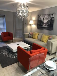 Photo for 5 Mins to City Centre  Luxury Apartment with Parking Excellent Transport Links