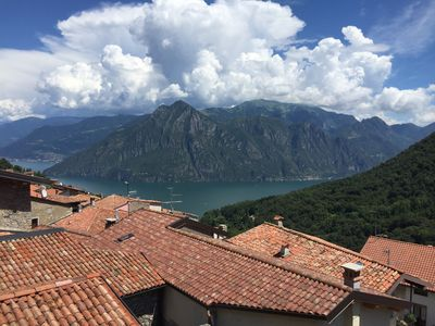 Photo for Holiday house with stunning views over Lake Iseo for 6 persons