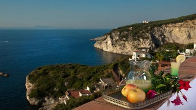 Photo for Casa Papoly (B) nice apartment with ocean view and relax in Amalfi Coast booking