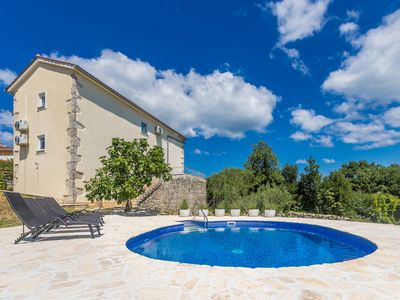Photo for Rustic and romantic holiday home in Salatici, Island Krk, Croatia  with private pool for 8 persons