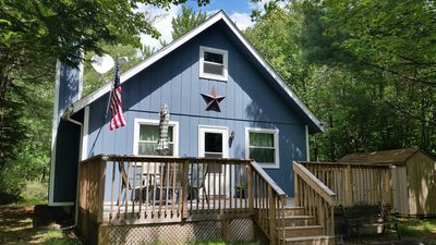 Photo for COZY & CLEAN! 2 BR Pocono MTN Chalet w GREAT location!